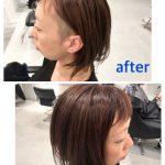 お客様カット+カラー Before&After(お任せ編)