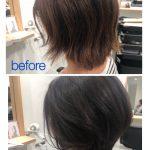 お客様カット Before&After(くせ毛編)by北折