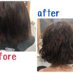 『髪を補修しながらかけるデジタルパーマ』でお洒落に大胆イメチェン☆日進市の美容院ファンビリ