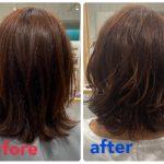 中途半端な長さの髪におすすめ!パーマスタイル⭐︎【日進市の美容院ファンビリ】